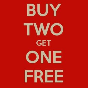 Other - 🔥🔥BUY 2 GET 1 FREE!!🔥🔥